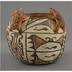 ZUNI INDIAN POTTERY JAR