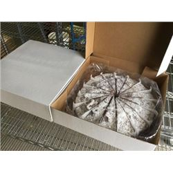 Frozen Round Cake Lot of 2