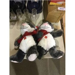 Petsmart Lucky Collectible Plush Lot of 2
