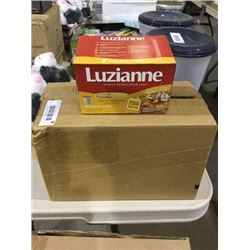 Case of 6 Luzianne Iced Tea and Lemonade 12 Single Serve K-Cups