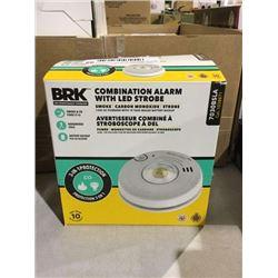 BRK Smoke/Carbon Monoxide Combination Alarm w/ LED Strobe