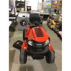 CRAFTSMAN T140 18.5-HP Automatic 46-in Riding Lawn Mower (AS IS damage to hood)