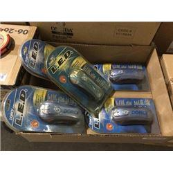 Case of 5 Dorcy LED Dynamo Flashlights
