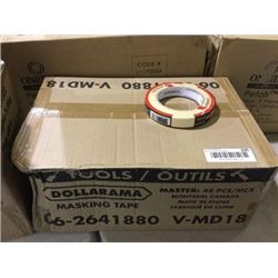 Case of 48 Duramax Masking Tape Rolls