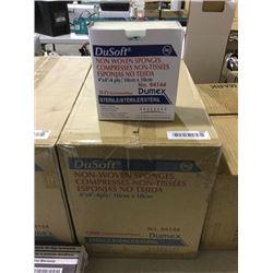 Case of DuSoftNon Woven Sponges (10cm x 10cm)