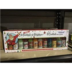 Rockin' 12 Cocktails of Christmas Cocktail Mixers (12 x 70mL)