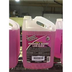 Turbo Power Summer Windshield Washer Fluid (3.78L) Lot of 2