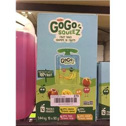 Case of GoGo Squeez Fruit Sauce (16 x 90g)