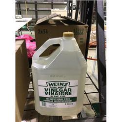 Case of Heinz Pure White Vinegar (2 x 5L)