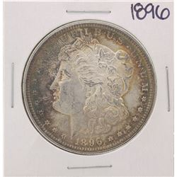 1896 $1 Morgan Silver Dollar Coin Great Color