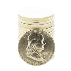 Roll of (20) 1961-D Franklin Half Dollar Coins