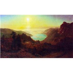 Donner Lake #2 by Albert Bierstadt