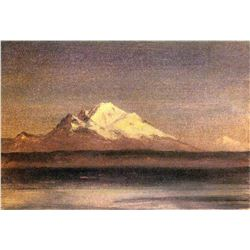 Snowy Mountains in the Pacific Northwest 2 by Albert Bierstadt