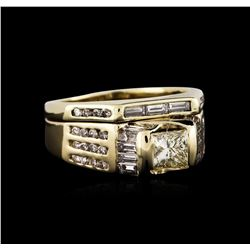 14KT Yellow Gold 1.41 ctw Diamond Ring
