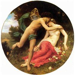 William Bouguereau - Flora and Zephyr
