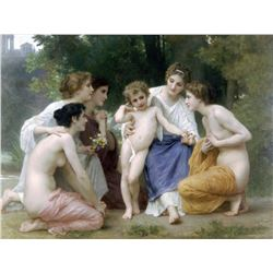 William Bouguereau - Admiration