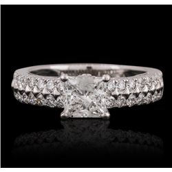 18KT White Gold 2.02 ctw Diamond Ring