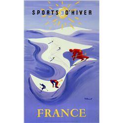 Bernard Villemot - Sports D'hiver