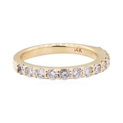 0.50 ctw Diamond Band - 14KT Yellow Gold