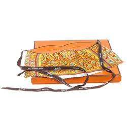Hermes Multicolor Silk Costume Mask