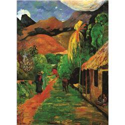 Paul Gauguin Chemin A Pepeete