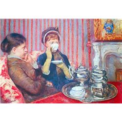 Mary Cassatt - A Cup of Tea #2