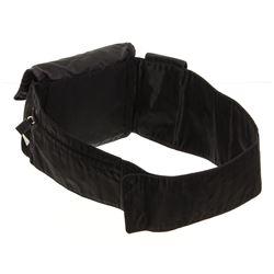 Prada Black Nylon Crossbody Waist Bag