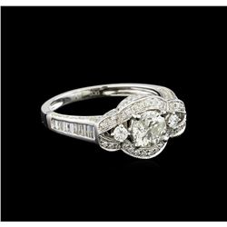 14KT White Gold 1.72 ctw Diamond Ring