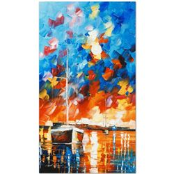 Night Comes by Afremov, Leonid