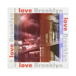 I Love Brooklyn by Steve Kaufman (1960-2010)
