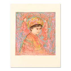 Boy with Turban by Hibel (1917-2014)
