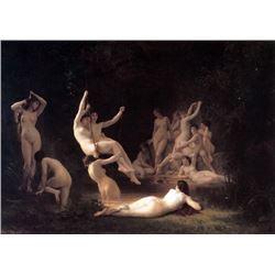 William Bouguereau - The Nymphaeum