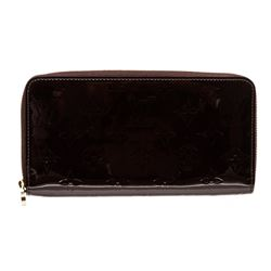 Louis Vuitton Vernis Amarante Monogram Zippy Wallet