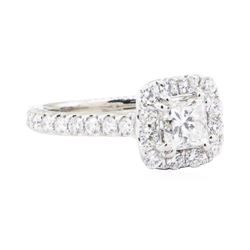 1.40 ctw Diamond Ring - 14KT White Gold