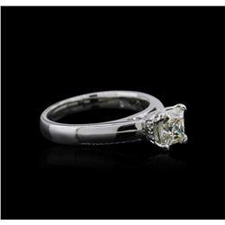 Platinum 0.93 ctw Diamond Ring