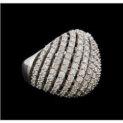 14KT White Gold 1.82 ctw Diamond Ring