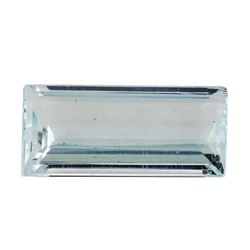 4.50 ct.Natural Rectangle Step Cut Aquamarine