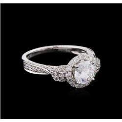 1.71 ctw Diamond Ring - 18KT White Gold