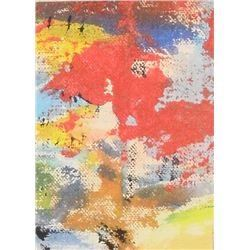 922LA LangdonArt Courage Scene small tiny painting - LangdonArt Scène-Courage petite peinture miniat