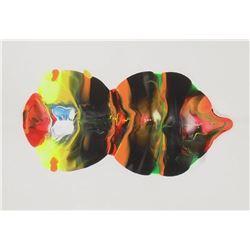 Peinture LangdonArt Toupie aux yeux cachés - LangdonArt painting Spinning Top Hidden Eyes
