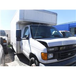 2006 FORD E-450 SUPER DUTY