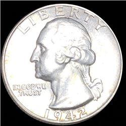 1942 Washington Quarter CLOSELY UNCIRCULATED