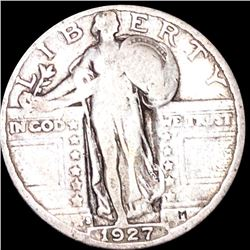 1927-S Standing Liberty Quarter NICELY CIRCULATED