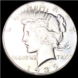 1935 Silver Peace Dollar UNCIRCULATED