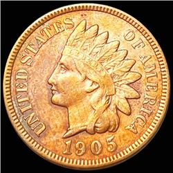 1905 Indian Head Penny NEARLY UNCIRCULATED