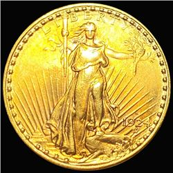 1924-S $20 Gold Double Eagle UNCIRCULATED