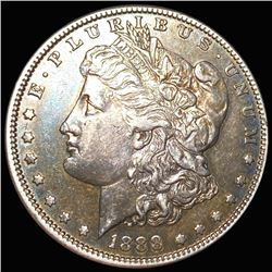 1888-S Morgan Silver Dollar ABOUT UNCIRCULATED