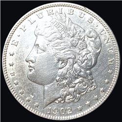 1902 Morgan Silver Dollar CLOSELY UNCIRCULATED