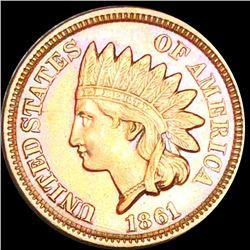 1861 Indian Head Penny UNCIRCULATED