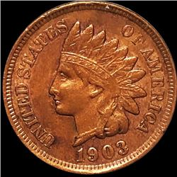 1903 Indian Head Penny ABOUT UNCIRCULATED